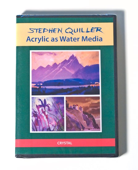 Quiller Instruction DVD: Acrylic as Water Media