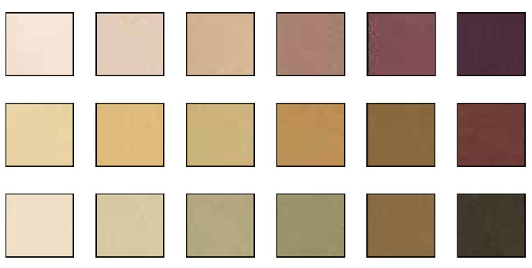 brown earth 2 values pastel set 18 colors - Earth Colors