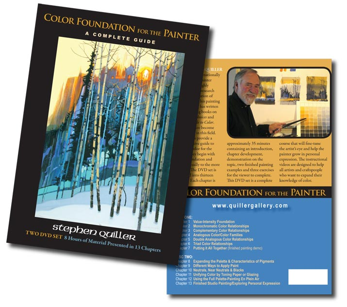 Color Foundation for the Painter: A Complete DVD Guide