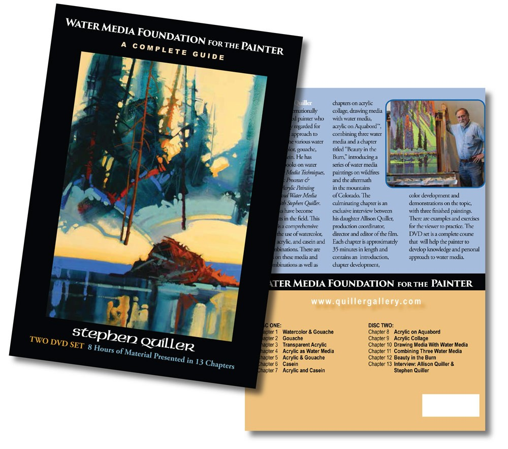 Water Media Foundation for the Painter: A Complete DVD Guide