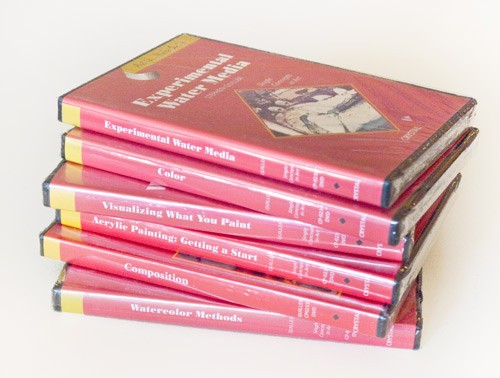6 DVD Set - Student Painting Series