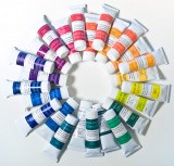 25-Color Combined Set of SQ Watercolors