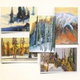 High Country Shadows - Notecard Set