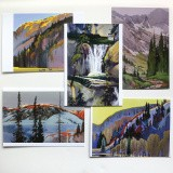 Mountain Color III - Notecard Set
