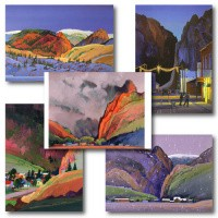 Creede Paintings - Notecard Set
